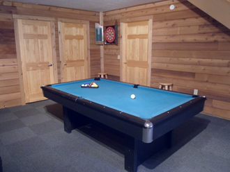 Sleepy Bear Pool Table